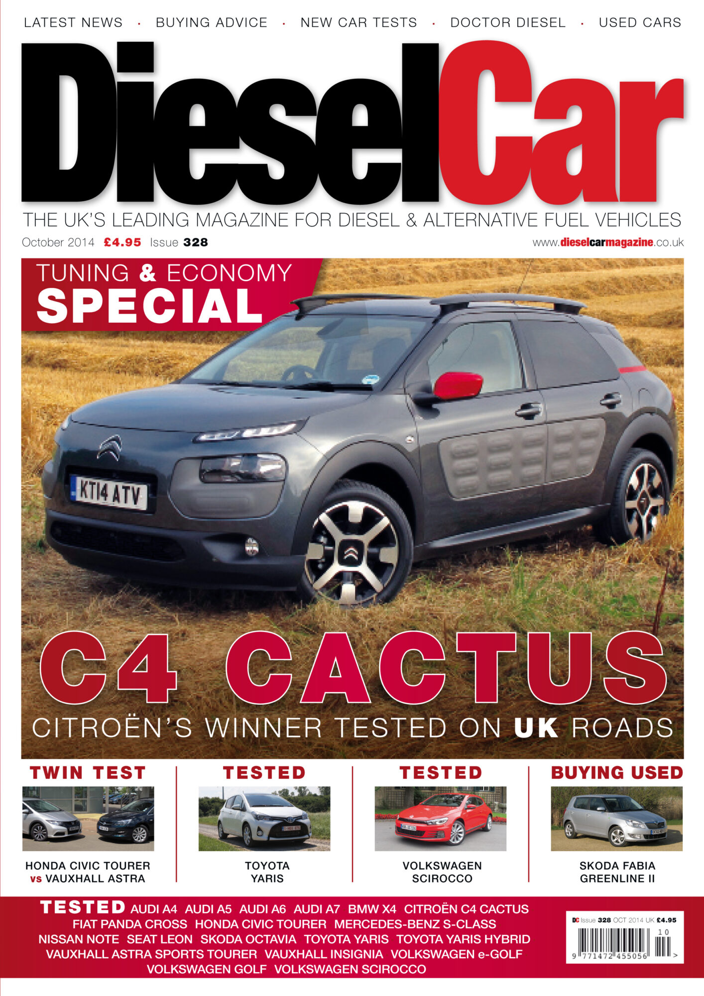 Diesel Car Issue 328 October 2014 Tuning And Economy Special