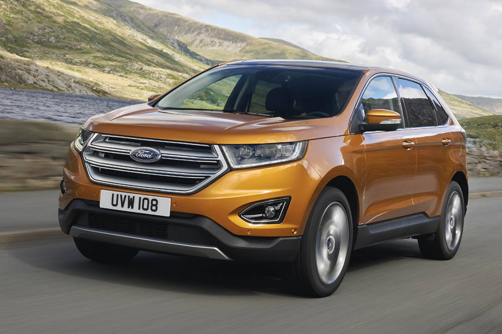 The Stylish And Sophisticated Ford Edge Large Suv Will Be Offered In Europe With A Choice Of Bhp   Litre Tdcisel Engine With Six Speed Manual