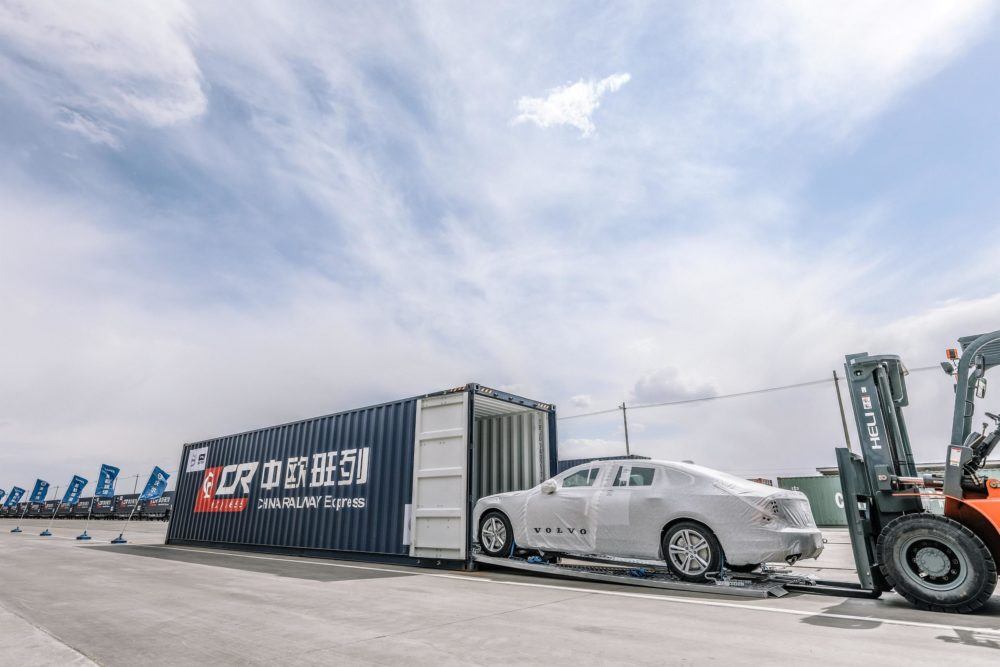 Chinese-made Volvos arrive in Europe by rail | Diesel Car Magazine