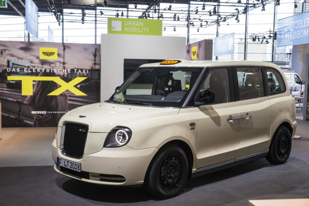 London Ev Company Levc Formerly The Taxi Has Premiered Its All New Electric Tx Six Seater At Europe S Gest Motor Show Of 2017 In