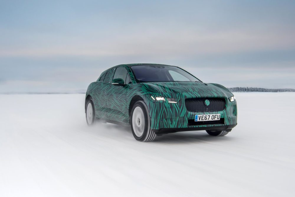 Jaguar S All Electric I Pace Will Deliver Both Rapid Charging And Performance When It Goes On 1 March Says The Company