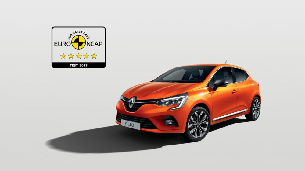 Five Star Euro Ncap Rating For The New Renault Clio Diesel Car